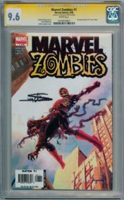 Marvel Zombies #1 First Print CGC 9.6 Signature Series Signed Arthur Suydam Marvel Comic Book